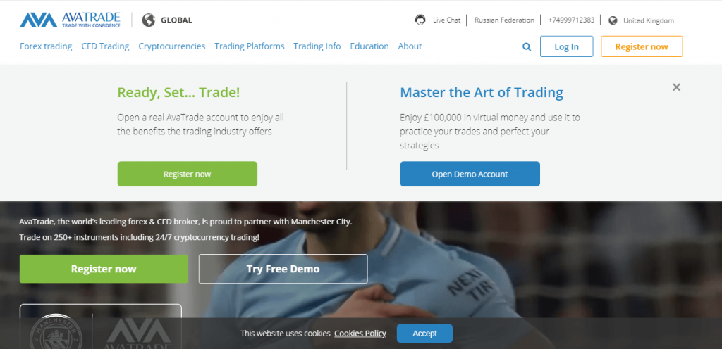 Review on AvaTrade Broker reviews
