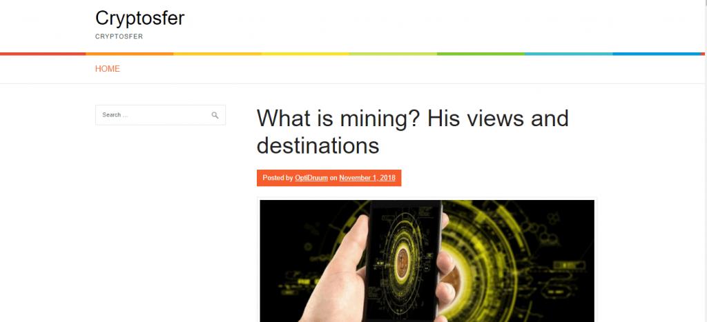 Обзор на портал Сryptosfer.com отзывы
