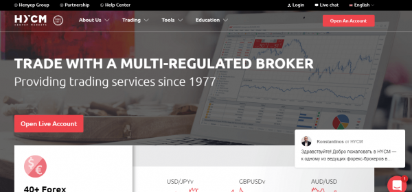 Review on broker HYCM