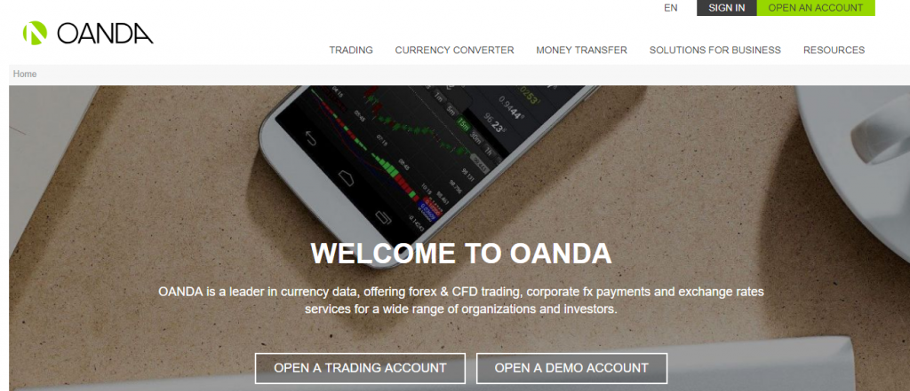 Review on broker OANDA reviews
