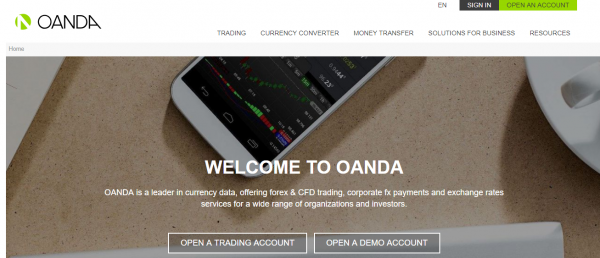 Review on broker OANDA reviews