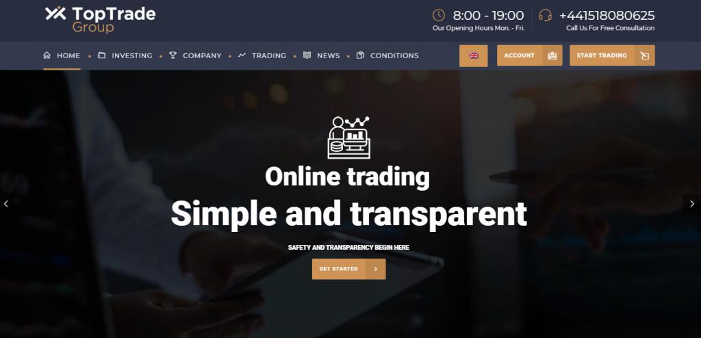 Toptrade scam? Or is Toptrade an honest broker? Broker Reviews of - 2021